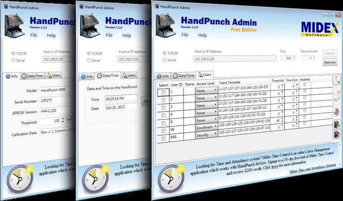 HandPunch Admin