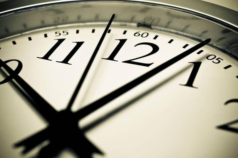 Daylight Saving Time in Time Clocks
