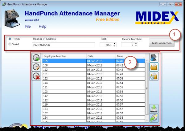 HandPunch Attendance Manager User Manual | HandPunch Software