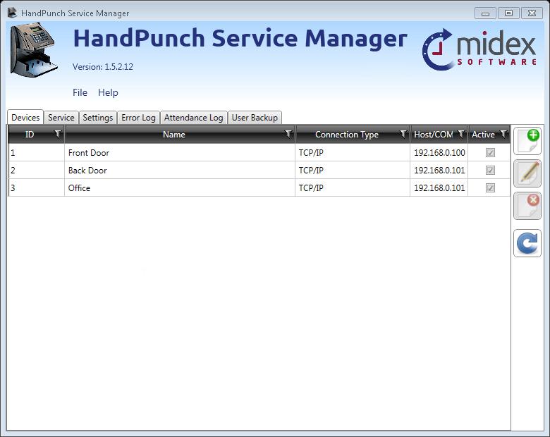HandPunch Service
