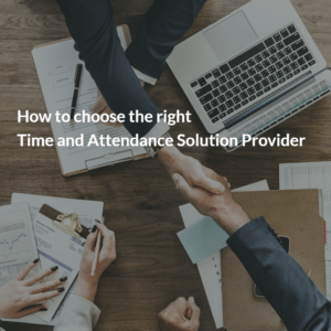 Time and Attendance Solution Provider
